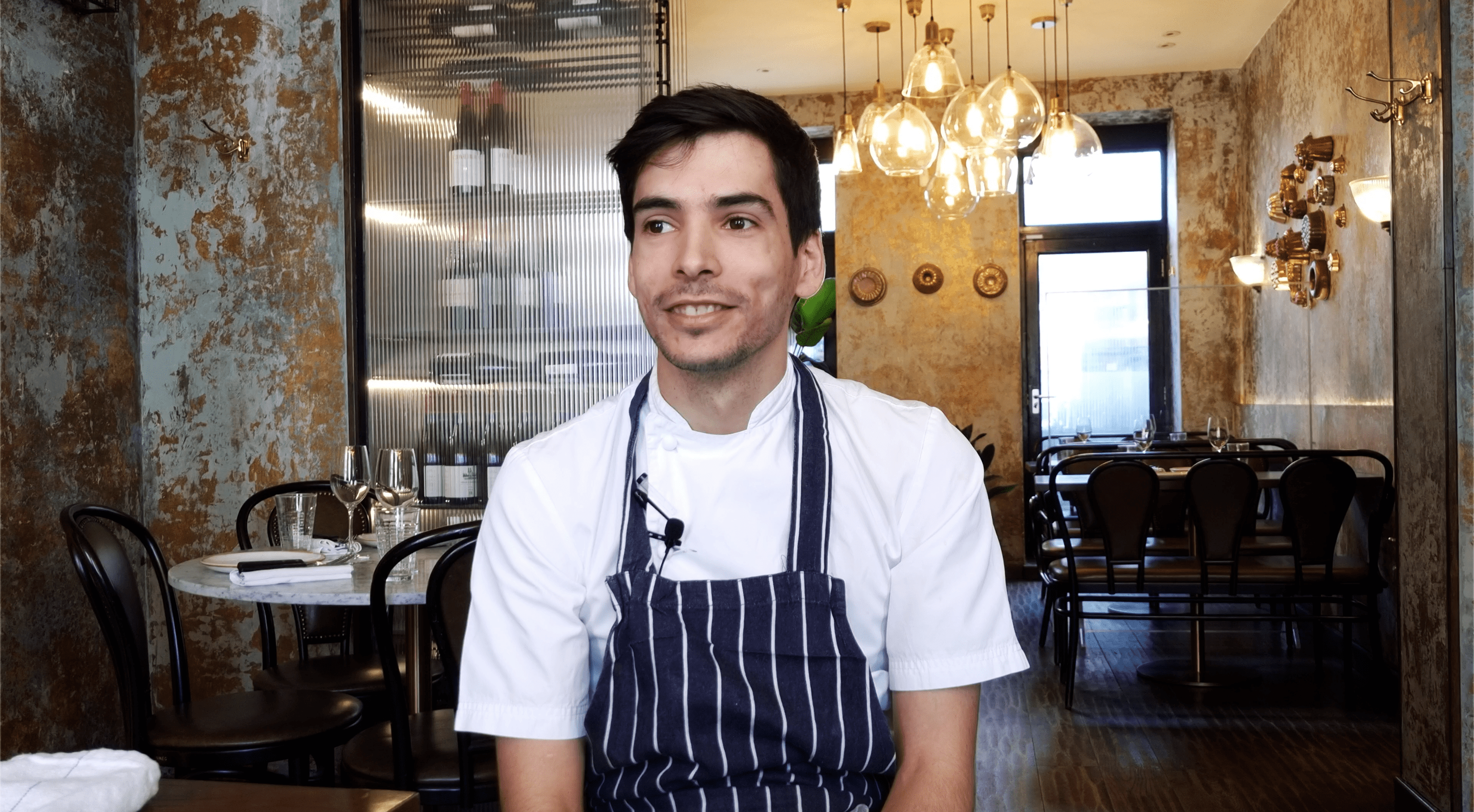 Nuno Resende, Head Chef at the Ninth